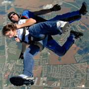 First Tandem Skydive in San Diego