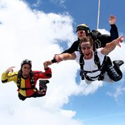 San Diego Skydiving School - Tandem Progression