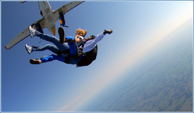 Your First Skydive in San Diego