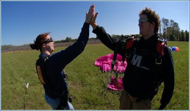 San Diego Skydiving Gift Certificates