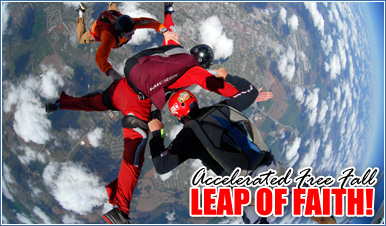 Skydiving in Campo California