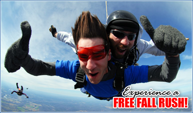 Skydiving in Palomar Mountain California